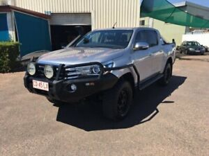 2016 Toyota Hilux GUN126R SR5 (4x4) Silver 6 Speed Manual Dual Cab Utility Berrimah Darwin City Preview