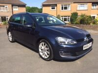 "VW GOLF 2.0 TDI 150 BHP GT TECH ESTATE ""TOP OF THE RANGE"""