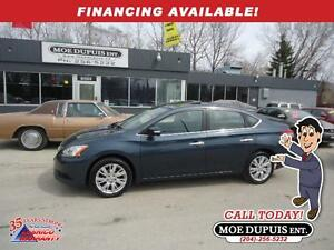 2014 Nissan Sentra SL,LEATHER!! SUNROOF!! NAVIGATION!!