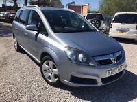 2007 Vauxhall Zafira 1.6 i 16v Energy 5dr FSH 2PREV OWNER+ 2 KEYS +7 SEATER