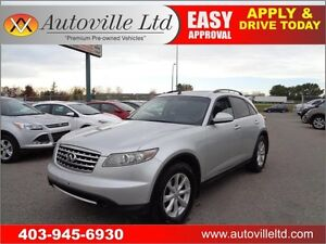 2006 Infiniti FX35 AWD Cam Sunroof Leather Everyone Approved
