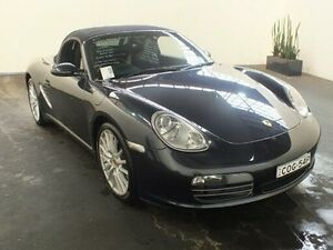 2007 Porsche Boxster 987 MY07 S Grey 6 Speed Manual Roadster Clemton Park Canterbury Area Preview