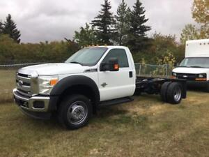 2012 Ford Super Duty F-550 Cab and Chassis 4x4 Diesel, auto