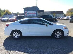 2014 Honda Civic LX Coupe   Managers Special