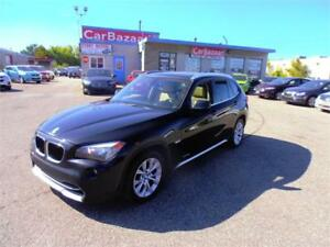 2012 BMW X1 XDRIVE 28i 4 CYL LEATHER SUNROOF LOADED EASY FINANCE