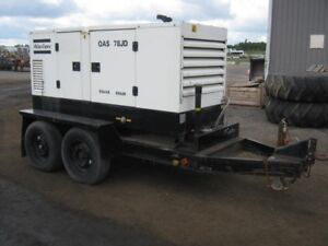 Atlas Copco QAS 78JD Generator Set