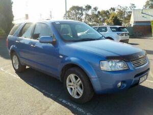 2004 Ford Territory SX Ghia (RWD) Blue 4 Speed Auto Seq Sportshift Wagon Newtown Geelong City Preview