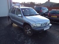 Kia Sportage, 12 Months MOT, Cheap 4x4, Ultra Low Miles, Trade-In to Clear