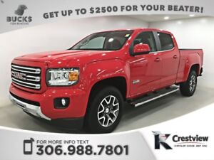 2016 GMC Canyon SLE All Terrain 4x4 V6 Crew Cab