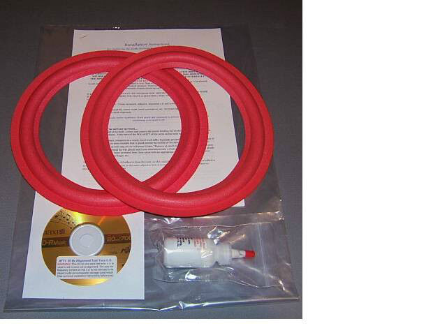 "Cerwin Vega D1, DX1, AT8, ATW8, CVW8  8""  Foam Surround Speaker Repair Kit"