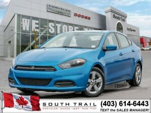 2016 Dodge Dart SXT MINT 4 Cyl 2.4L Engine BLUETOOTH $99 B/W