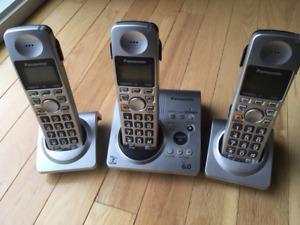 Téléphones Panasonic sans fil