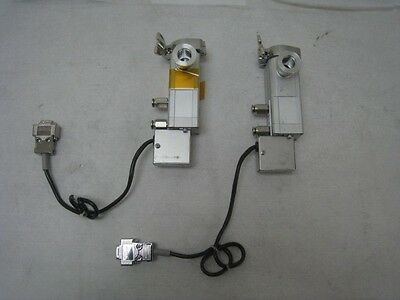 2 SMC XLG-16-X1085  Vacuum Isolation valves KF16 120C capable