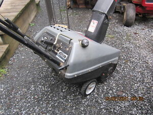 small gas  snowblower  with electric start