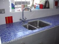 Alldeqor Ltd installs and supplies any kitchen cabinets and worktops