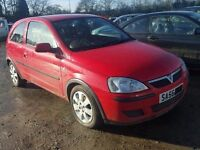 vauxhall corsa 1.0 twinport red breaking for spare parts