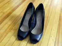 2 Pairs BRAND NEW leather high heel shoes