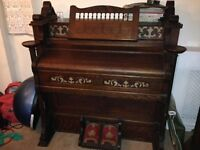 Antique organ/harmonica for sale - 1900s - old church organ. Rich sounding. £75 ONO