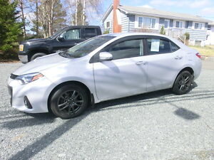 2014 Toyota Corolla S 78069 kms Bal of Factory warr