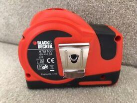 Black and decker auto tape measure