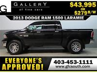 2013 DODGE RAM LARAMIE LIFTED *EVERYONE APPROVED* $0 DOWN$279 BW