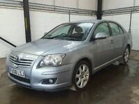 TOYOTA AVENSIS T4 2.0 D-4D 2008 SILVER BREAKING ALL PARTS