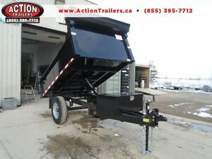 ULTIMATE MINI DUMP 5 X 8 WITH HIGHER SIDES - COMES W/TARP KIT London Ontario image 1