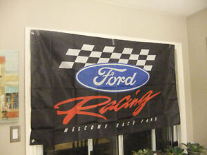 Chevy Racing, Ford Racing, Corvette flags, 3x5, new