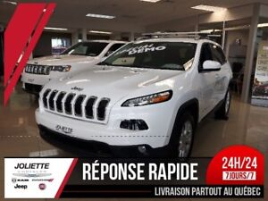 2017 Jeep Cherokee North, 4X4, A/C, GPS,