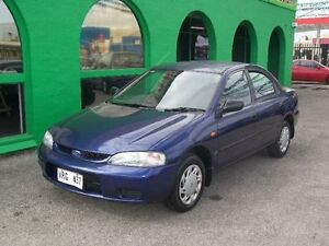 1999 Ford Laser KN LXI Blue 5 Speed Manual Sedan Nailsworth Prospect Area Preview