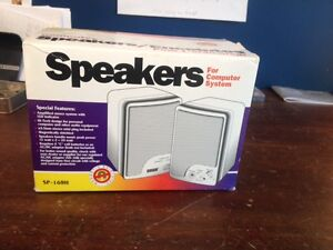 Speakers for computer system