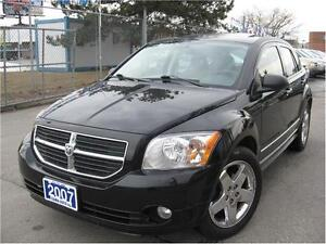 2007 Dodge Caliber R/T 4CYL 3 TO CHOOSE 115KM LEATHER WE FINANCE