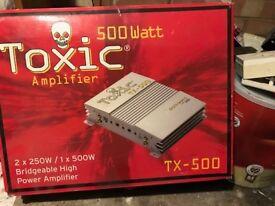 Toxic amplifier