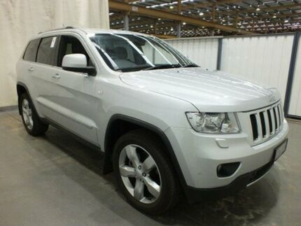 2012 Jeep Grand Cherokee WK MY12 Limited (4x4) Silver 5 Speed Automatic Wagon Balcatta Stirling Area Preview