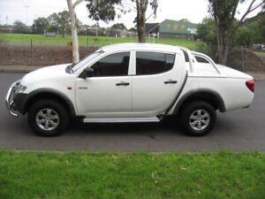 2009 Mitsubishi Triton GLX DUAL CAB DIESEL Manual Ute Preston Darebin Area Preview