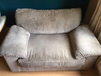 Matching Armchair and Storage stool (would sell separately £60 for chair/£30 for stool)