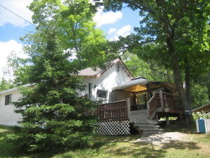 3 Bedroom Cottage on the Cutler Lake!!!!  Special Deals!!!!!
