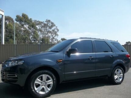 2011 Ford Territory SZ TX (RWD) Grey 6 Speed Automatic Wagon