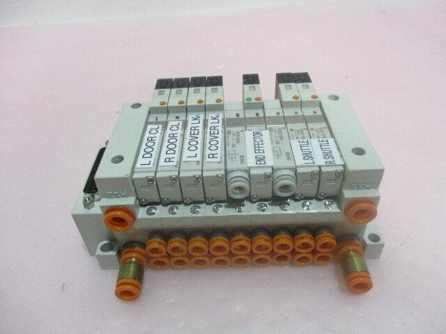 SMC US2344, 9 Station Pneumatic Manifold Assembly. 416318