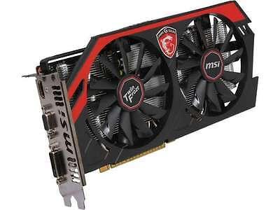 MSI GeForce GTX 750Ti GAMING DirectX 12 N750Ti TF 2GD5/OC 2GB 128-Bit GDDR5 PCI