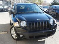 2008 Jeep Compass Sport AWD 4 CYLINDER, GOOD ON GAS