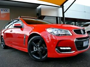 2016 Holden Commodore VF II MY16 SV6 Sportwagon Red 6 Speed Sports Automatic Wagon Fawkner Moreland Area Preview