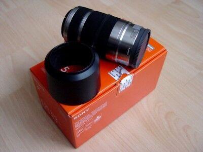 "SONY Tele - Objektiv "" SEL55210 ""/ E 55–210 mm / APS-C E-Mount / silber / silver gebraucht kaufen  Cottbus"