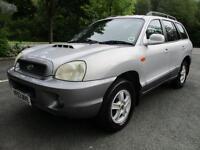 Hyundai Santa Fe Gsi Crtd Estate DIESEL AUTOMATIC 2003/03