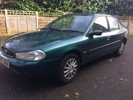 FORD MONDEO START AND DRIVE