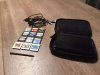 Nintendo 3DS + 12 Games + Case