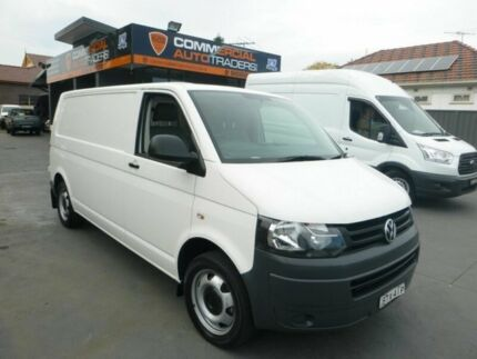 2010 Volkswagen Transporter T5 MY11 Low Roof LWB DSG White 7 Speed Sports Automatic Dual Clutch Van