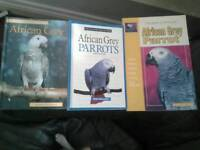 Yorkshire terrier and parrot books...
