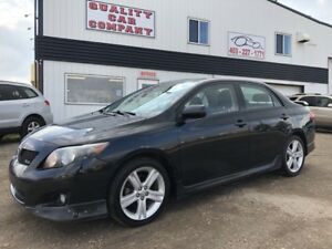 2009 Toyota Corolla XRS SALE PRICED ONLY $5950!!!