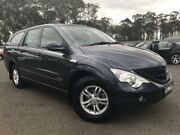 2010 Ssangyong Actyon Sports 100 Series MY08 Sports Grey 6 Speed Automatic 4D Utility Richmond Hawkesbury Area Preview